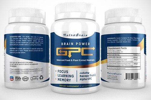 Nutra brain supplement design