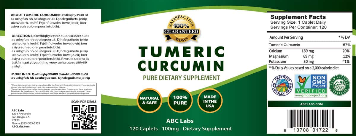 Superior---Tumeric-Curcumin-Label
