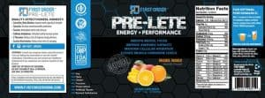 supplement label pre lete