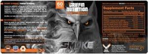 Label Design Griffin Nutrition