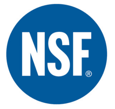 nsf certified manufacturer